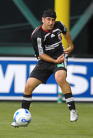 DC United forward Alecko Eskandarian. DC United defeated the New England Revolution 1-0 at RFK Stadium, Washington DC, June 3, 2006.
