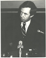 Joe Clark<br /> , 13 mars 1979<br /> <br /> <br /> PHOTO : agence quebec presse