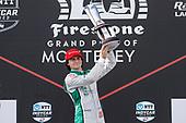 Winner Colton Herta, Harding Steinbrenner Racing Honda