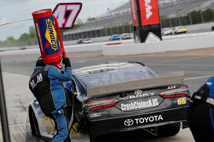 June 27, 2020:   #66: Timmy Hill, Motorsports Business Management, Toyota Camry CRASHCLAIMSR.US  at Pocono Raceway in Pocono, PA.  (HHP/Andrew Coppley)