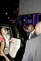 """Montreal (Qc) CANADA - June 7 2008-<br /> Canadian born """"actress"""" Pamela Anderson get out of a massive SUV, onto the red carpet of a club in Montreal club who paid her 100, 000 $ to host a  fashion contest.<br /> <br /> She refused all planned interview and photo op and managed to get the local press angry.<br /> One article in today (June 9) Journal de Montreal was very critical of the star attitude and wondered was star acted like this in Montreal and not in New-York or Los Angeles.<br /> <br /> <br /> <br /> photo by  Images Distribution"""