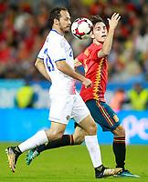 Spain's Alvaro Odriozola (r) and Costa Rica's Marcos Urena during international friendly match. November 11,2017.(ALTERPHOTOS/Acero) /NortePhoto.com