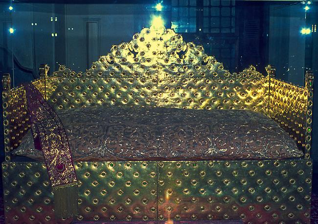 Istanbul, Topkapi Palace, Emerald Throne