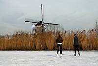 IJspret omgeving Kinderdijk