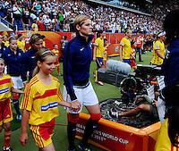 Fifa Women's World Cup Germany 2011 : Zweden - France Frankrijk at Sinsheim World Cup stadium : Corine Franco.foto DAVID CATRY / Vrouwenteam.be