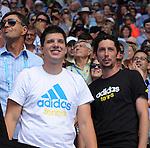 Ana Ivanovic (SRB) defeats Serena Williams (USA) 4-6, 6-3, 6-3  at the Australian Open in Melbourne, Australia on January 19 2014