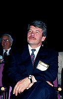 Montreal. CANADA -   April, 1993  File Photo -<br /> <br /> Jean Dore, Montreal Mayor attend the Union des Municipalites convention.<br /> <br /> File Photo : Agence Quebec Pressse - Pierre Roussel