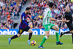 Lionel Andres Messi of FC Barcelona in action during the La Liga 2018-19 match between FC Barcelona and Real Betis at Camp Nou, on November 11 2018 in Barcelona, Spain. Photo by Vicens Gimenez / Power Sport Images