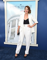 """WEST HOLLYWOOD - SEPT 1: Cobie Smulders  attends a red carpet event for FX's """"Impeachment: American Crime Story"""" at Pacific Design Center on September 1, 2021 in West Hollywood, California. (Photo by Frank Micelotta/FX/PictureGroup)"""