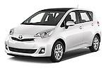 2015 Toyota Verso-S skyview 5 Door Hatchback 2WD Angular Front stock photos of front three quarter view