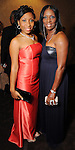 Camielle Williams and Dee Williams at a gala celebrating 50 years of ministry for Bishop I.V. Hilliard at the New Light Christian Church August 31,2012.(Dave Rossman/For the Chronicle)