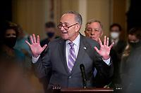 Senate Democrat's policy luncheon press conference