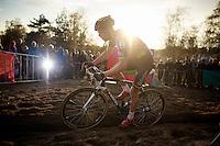A sun-powered Sven Nys (BEL/Crelan-AAdrinks)<br /> <br /> GP Zonhoven 2014
