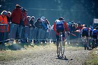 Sam O'Keefe (USA)<br /> <br /> Men U23 race<br /> <br /> 2015 UCI World Championships Cyclocross <br /> Tabor, Czech Republic