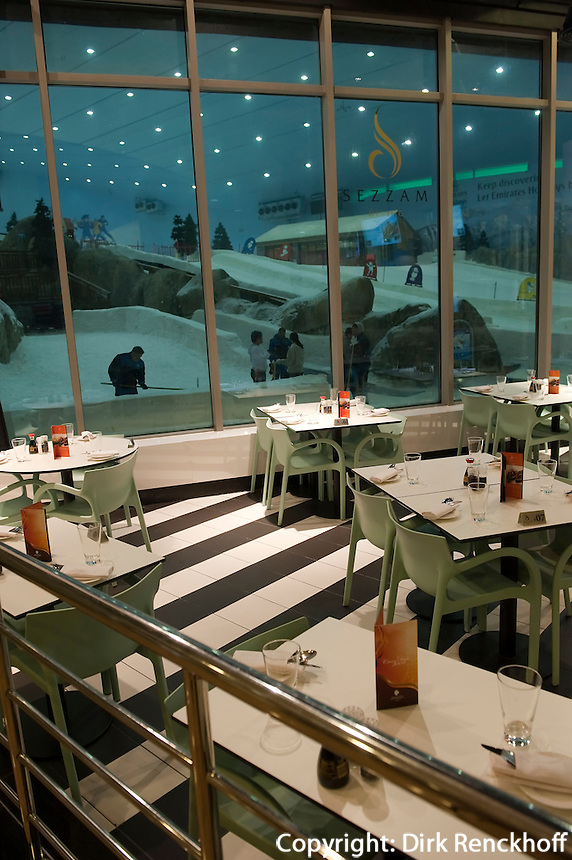 Vereinigte arabische Emirate (VAE), Dubai, Einkaufszentrum The Mall of the Emirates mit Ski-Dubai