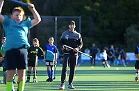 Nick Wilson. Vantage Black Sticks hockey community session prior to the upcoming Sentinel Homes Trans-Tasman Series at Twin Turfs in Palmerston North, New Zealand on Tuesday, 25 May 2021. Photo: Dave Lintott / lintottphoto.co.nz
