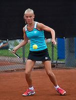 07-08-13, Netherlands, Rotterdam,  TV Victoria, Tennis, NJK 2013, National Junior Tennis Championships 2013, Suzan Lamens<br /> <br /> <br /> Photo: Henk Koster