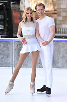 """Donna Air and Mark Hanretty<br /> at the """"Dancing on Ice"""" launch photocall, natural History Museum, London<br /> <br /> <br /> ©Ash Knotek  D3365  19/12/2017"""