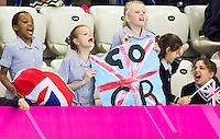 Supporters<br /> London, Queen Elizabeth II Olympic Park Pool <br /> LEN 2016 European Aquatics Elite Championships <br /> Swimming<br /> Men's 50m backstroke preliminary  <br /> Day 10 18-05-2016<br /> Photo Giorgio Perottino/Deepbluemedia/Insidefoto