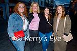 Enjoying the evening in Killarney on Saturday, l to r:  Bridget Philips (Tralee), Andrea O'Donoghue (Tralee), Noelle Enright (Tralee) and Jennifer Ahern (Killarney).