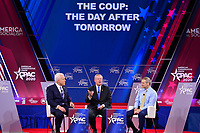 National Harbor, MD - February 27, 2020:  Matt Schlapp, Rep. Mark Meadows and  Rep. Jim Jordan speak during CPAC 2020 hosted by the American Conservative Union at the Gaylord National Resort at National Harbor, MD February 27, 2020.  (Photo by Don Baxter/Media Images International)
