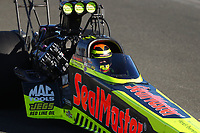 Jul 29, 2017; Sonoma, CA, USA; NHRA top fuel driver Troy Coughlin Jr during qualifying for the Sonoma Nationals at Sonoma Raceway. Mandatory Credit: Mark J. Rebilas-USA TODAY Sports
