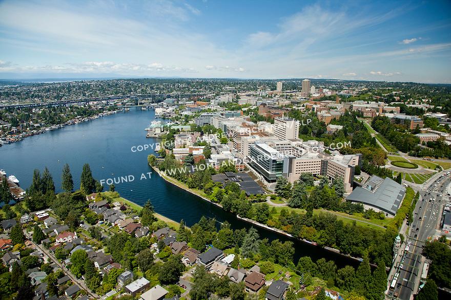 University of Washington Medical Center and campus in Seattle, WA