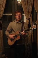 Ed Sheeran performing at Softly Softly before he became famous. He said they were the last shots that could be taken without permission from his new management, as he was signing that week.