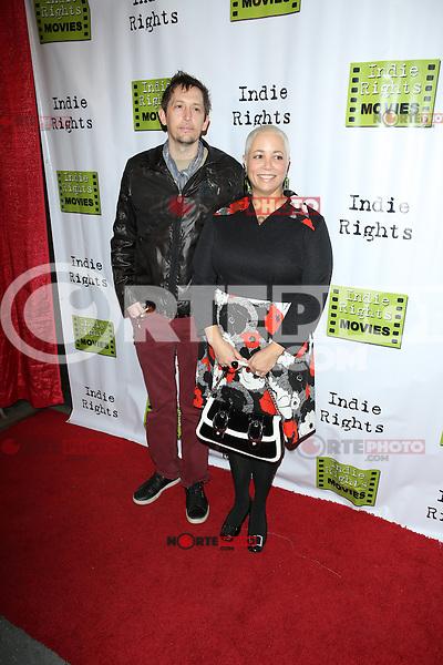 LOS ANGELES, CA - April 18, 2014: Gigi and River Faught attends the Fray Movie Premiere, California. April 18, 2014. Credit:RD/Starlitepics /NortePhoto