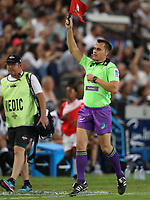 Assistant Referee Marius van der Westhuizen of (South Africa) during The Cell C Sharks training session at Growthpoint Kings Park in Durban, South Africa. 7th March 2017. Photo by Steve Haag / stevehaagsports.com