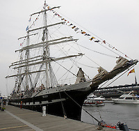 Montreal, QC, CANADA - July 2008 - The Belem ship visit Montreal ; Montreal, QC, CANADA - July 2008 - The Belem ship visit Montreal ;