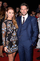 Una and Ben Foden<br /> at the Pride of Britain Awards 2016, Grosvenor House Hotel, London.<br /> <br /> <br /> ©Ash Knotek  D3191  31/10/2016