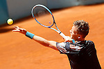 Tomas Berdych, Czech Republic, during Madrid Open Tennis 2015 match.May, 7, 2015.(ALTERPHOTOS/Acero)