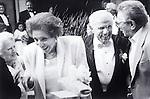 smiling elder couple at wedding