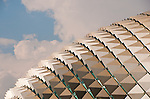 Esplanade Theatres Roof 01 - Roof of the Esplanade Theatres On The Bay, Marina Bay, Singapore