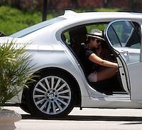 APRIL 26 2013.julianne hough and nina dobrev leaving hotel in miami.Non Exclusive.Mandatory Credit: ohPIX.COM..Ref: oh_SOL