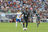 SAINT PAUL, MN - JULY 3: Ramon Abila #9 of Minnesota United FC during a game between San Jose Earthquakes and Minnesota United FC at Allianz Field on July 3, 2021 in Saint Paul, Minnesota.
