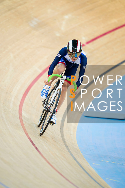 Yip Tak Long of Sha Tin Sports Association in action during the 500m Time Trial Youth 11-13 Final at the Hong Kong Track Cycling Race 2017 Series 5 on 18 February 2017 at the Hong Kong Velodrome in Hong Kong, China. Photo by Marcio Rodrigo Machado / Power Sport Images