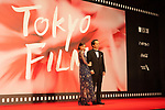 Movie Full Metal Alchemist, Director Fumihiko Sori, Actress Tsubasa Honda appears on the opening red carpet for The 30th Tokyo International Film Festival in Roppongi on October 25th, 2017, in Tokyo, Japan. The festival runs from October 25th to November 3rd at venues in Tokyo. (Photo by Michael Steinebach/AFLO)