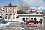 Eureka, Nevada, Historic Western architecture, small towns in decline, US Highway 50,