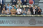 Vip Zone during Madrid Open Tennis 2015 Final match.May, 10, 2015.(ALTERPHOTOS/Acero)