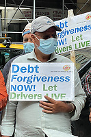 NEW YORK, NY- SEPTEMBER 23:  View of a Taxi Driver Rally fighting for Debt Forgiveness at City Hall in New York City on September 23, 2021. Credit: Rainmaker Photos/MediaPunch