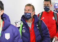 WIENER NEUSTADT, AUSTRIA - NOVEMBER 16: Jason Kreis assistant coach of the United States before a game between Panama and USMNT at Stadion Wiener Neustadt on November 16, 2020 in Wiener Neustadt, Austria.