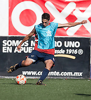 Sebastian Lletget training before the 2009 CONCACAF Under-17 Championship From April 21-May 2 in Tijuana, Mexico