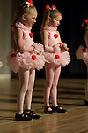 Young girls, children dancing during performance in Estes Park, Colorado, USA, not released.