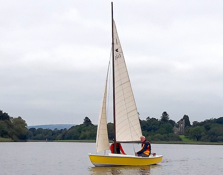 Second Outing for the Restored Snipe Dinghy Ranger on Lough Erne