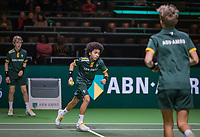Rotterdam, The Netherlands, 11 Februari 2019, ABNAMRO World Tennis Tournament, Ahoy, first round doubles, Ballboys,<br /> Photo: www.tennisimages.com/Henk Koster
