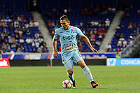 Harrison, NJ - Thursday Sept. 15, 2016: Rodolfo Zelaya during a CONCACAF Champions League match between the New York Red Bulls and Alianza FC at Red Bull Arena.
