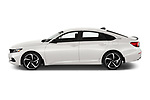 Car Driver side profile view of a 2021 Honda Accord-Sedan Sport-SE 4 Door Sedan Side View