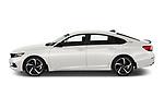 Driver side profile view of a 2021 Honda Accord Sedan Sport SE 4 Door Sedan